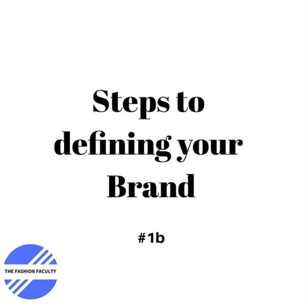 Steps to Defining Your Brand